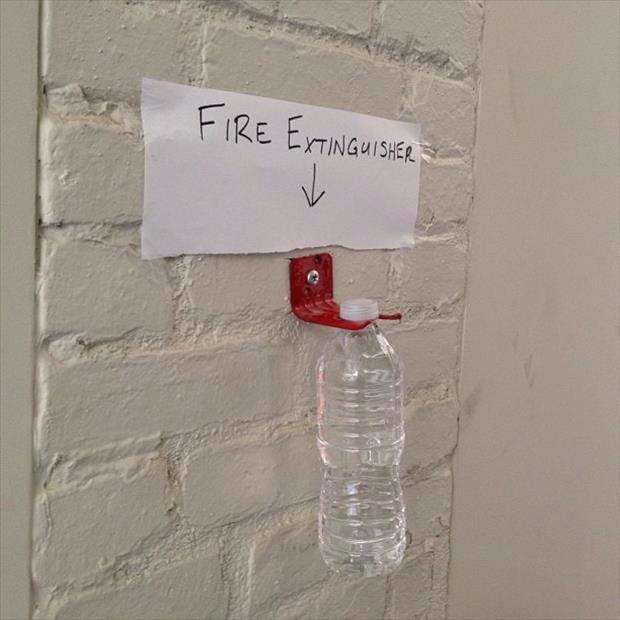 Место для огнетушителя