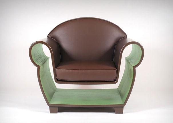 Кресло с нишей