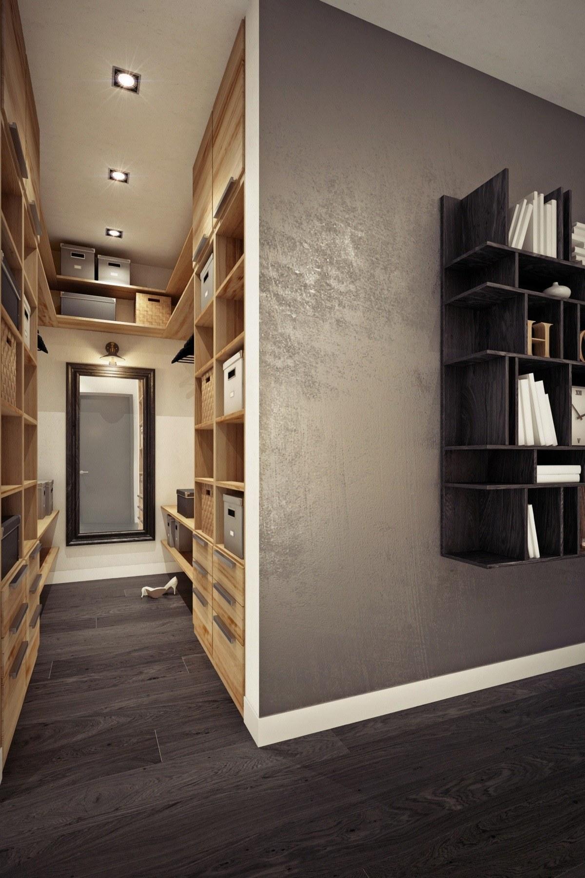 Дизайн маленькой квартиры-студии в тёплых тонах - фото 6