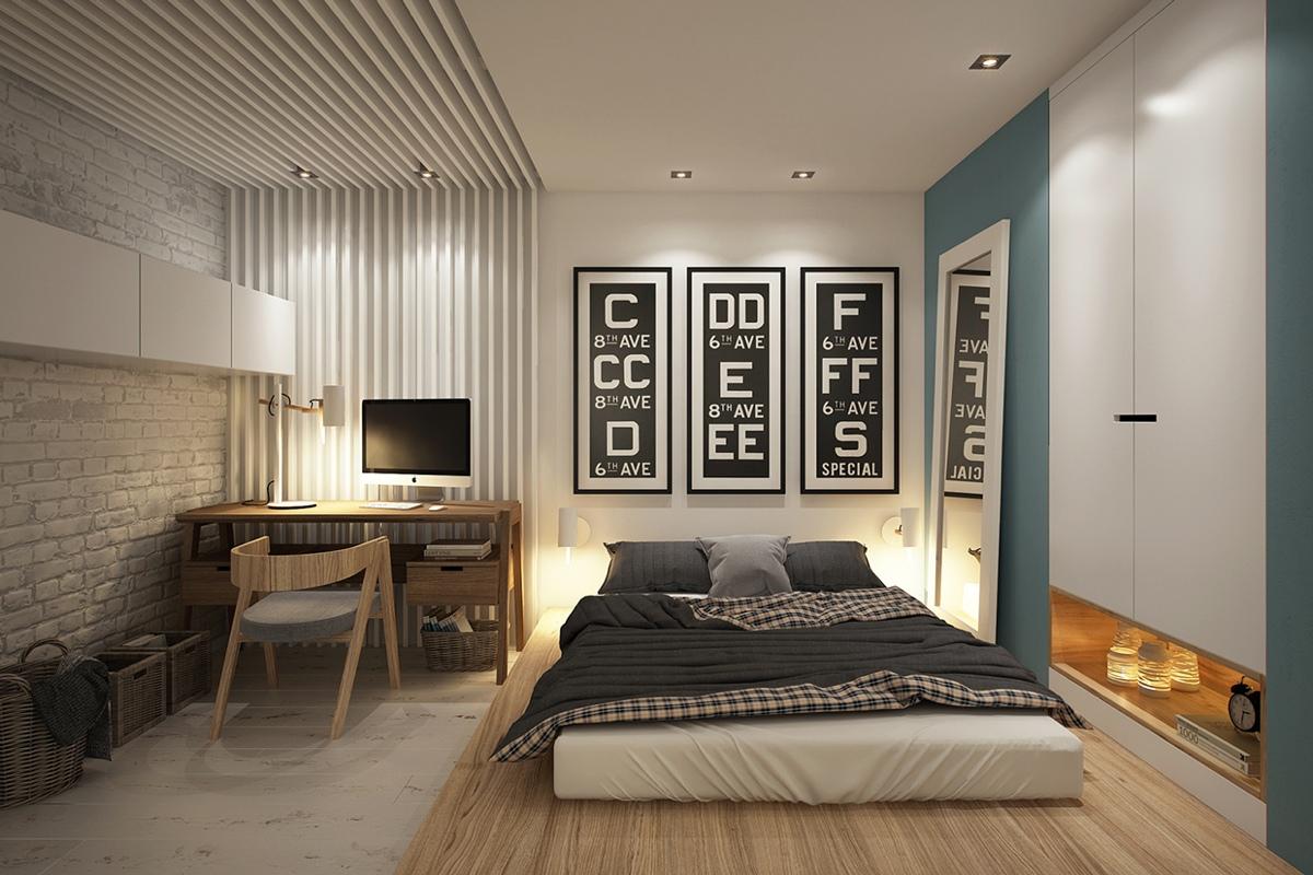 Дизайн маленькой квартиры-студии в скандинавском стиле - фото 4
