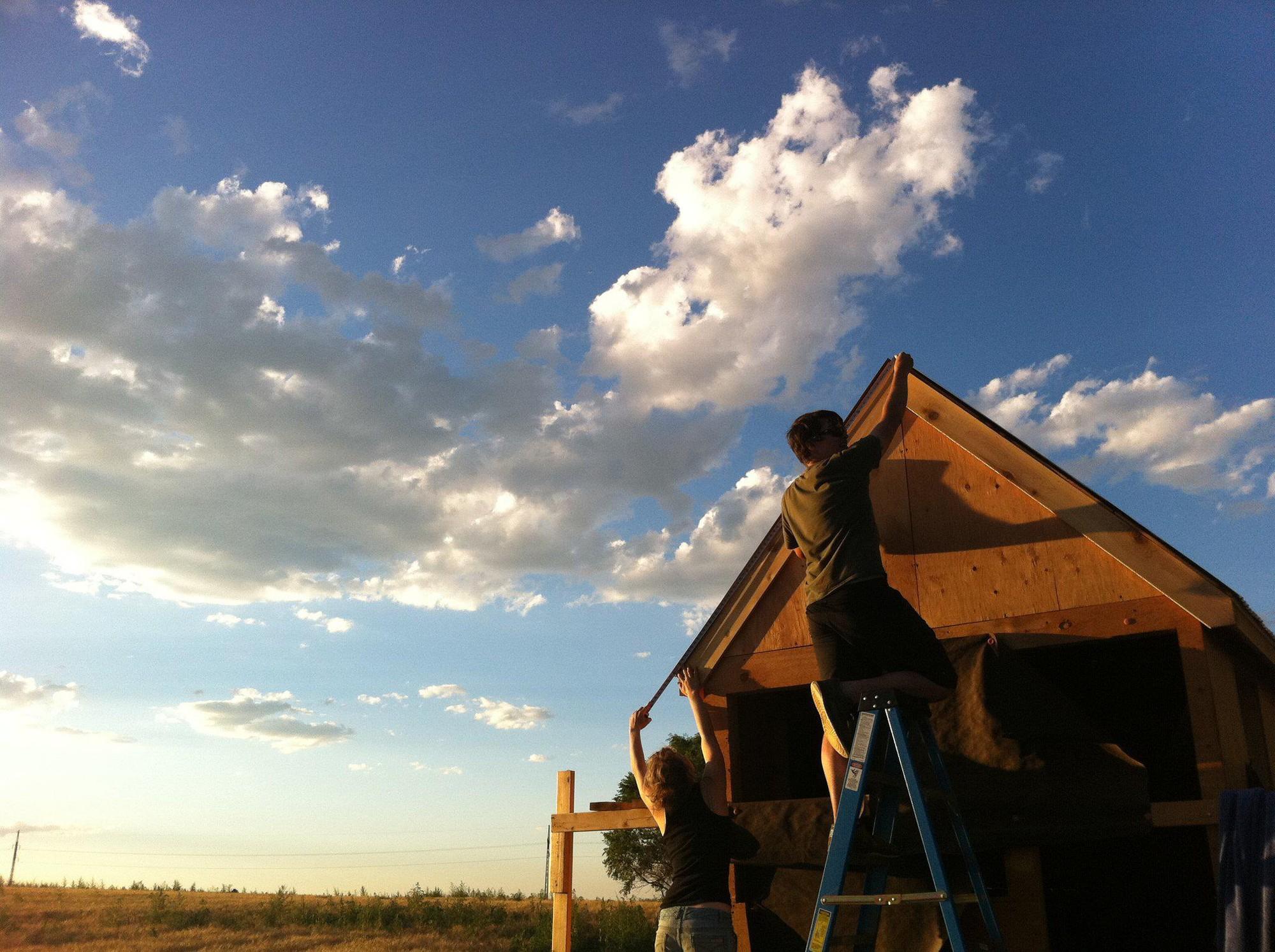 Строительство крошечного дома