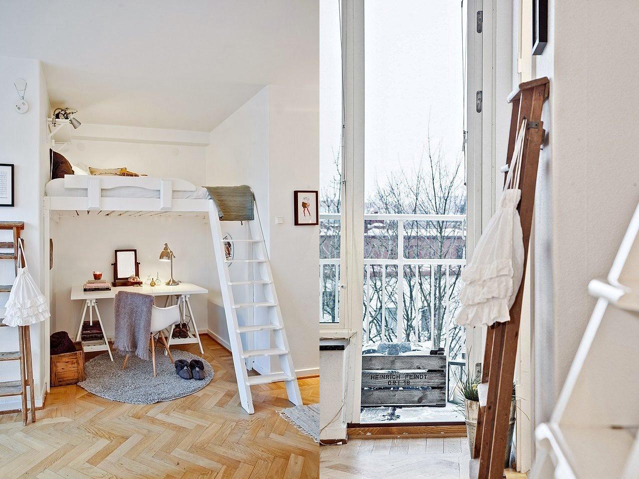 Домашний кабинет под спальным местом