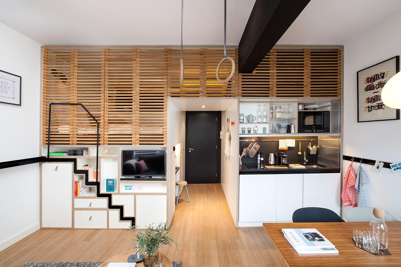 Квартира-студия в Амстердаме
