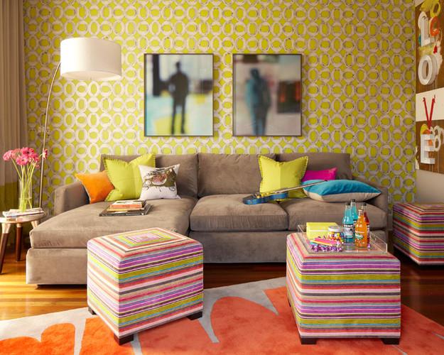 Крупная мебель в гостиной