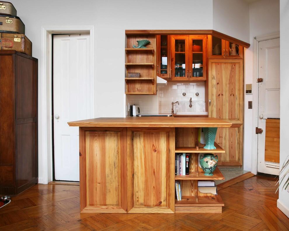 Кухонный гарнитур в винтажном стиле