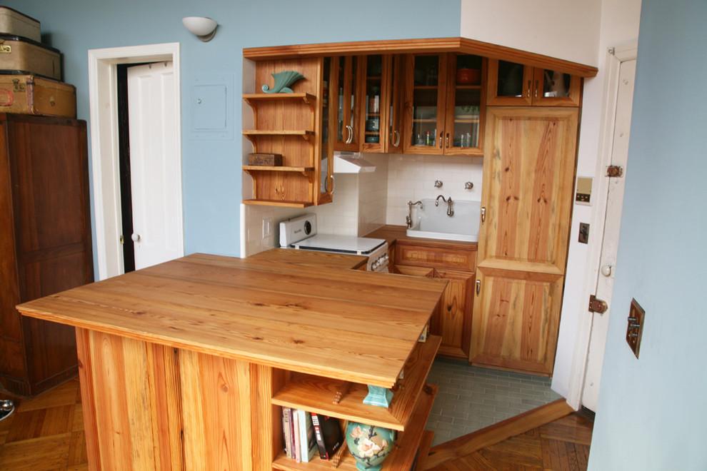 Маленькая кухня в винтажном стиле