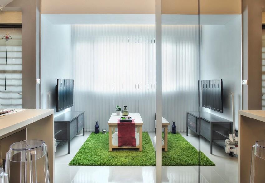 Интерьер квартиры-студии от Cloud Pen