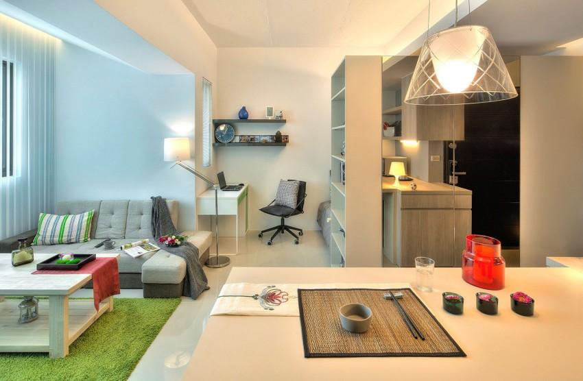 Кабинет в квартире-студии