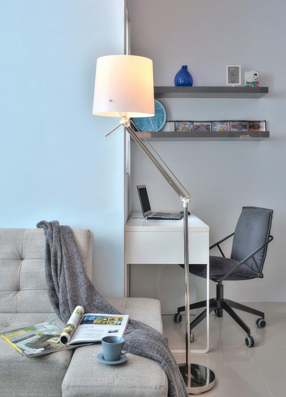 Рабочая зона в квартире-студии