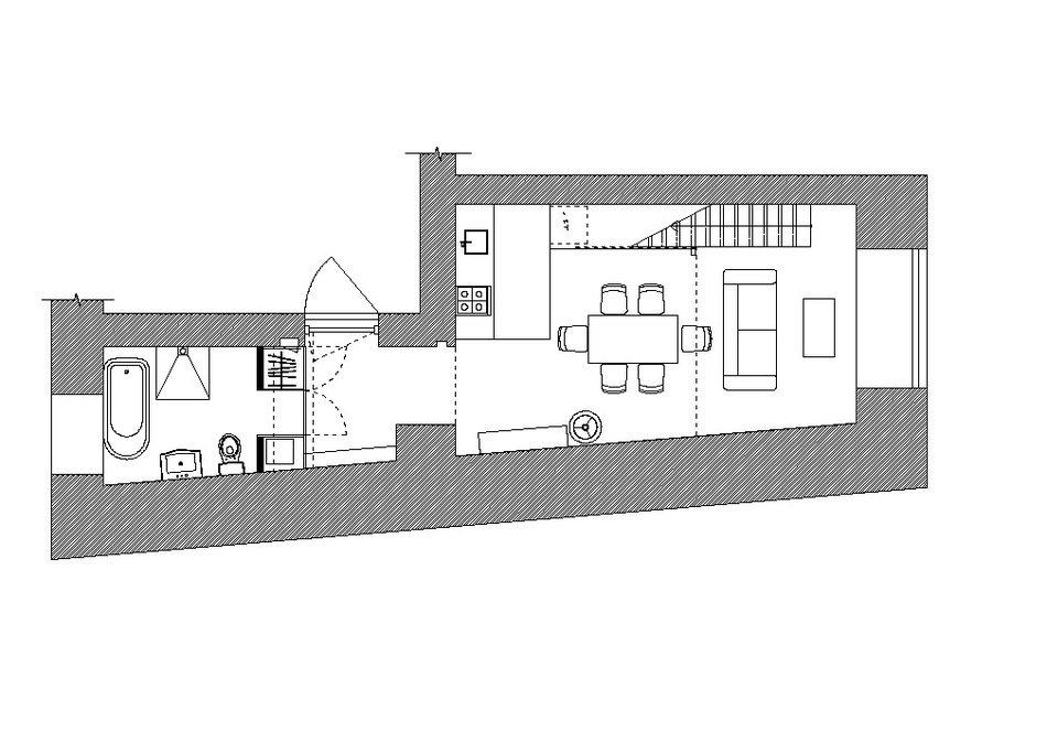 Планировка квартиры с высокими потолками