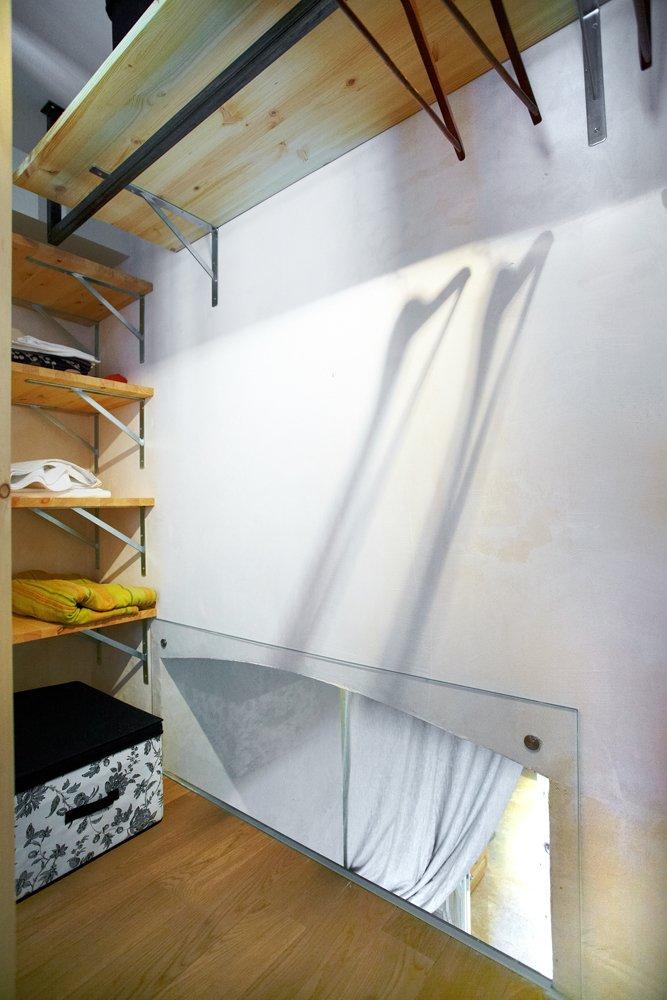 Обустройство гардеробной в маленькой квартире
