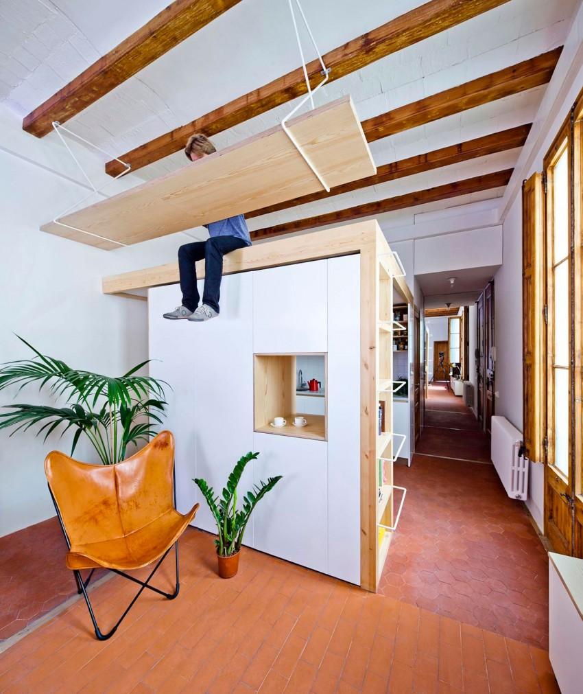 Подвесная конструкция под потолком - фото 2