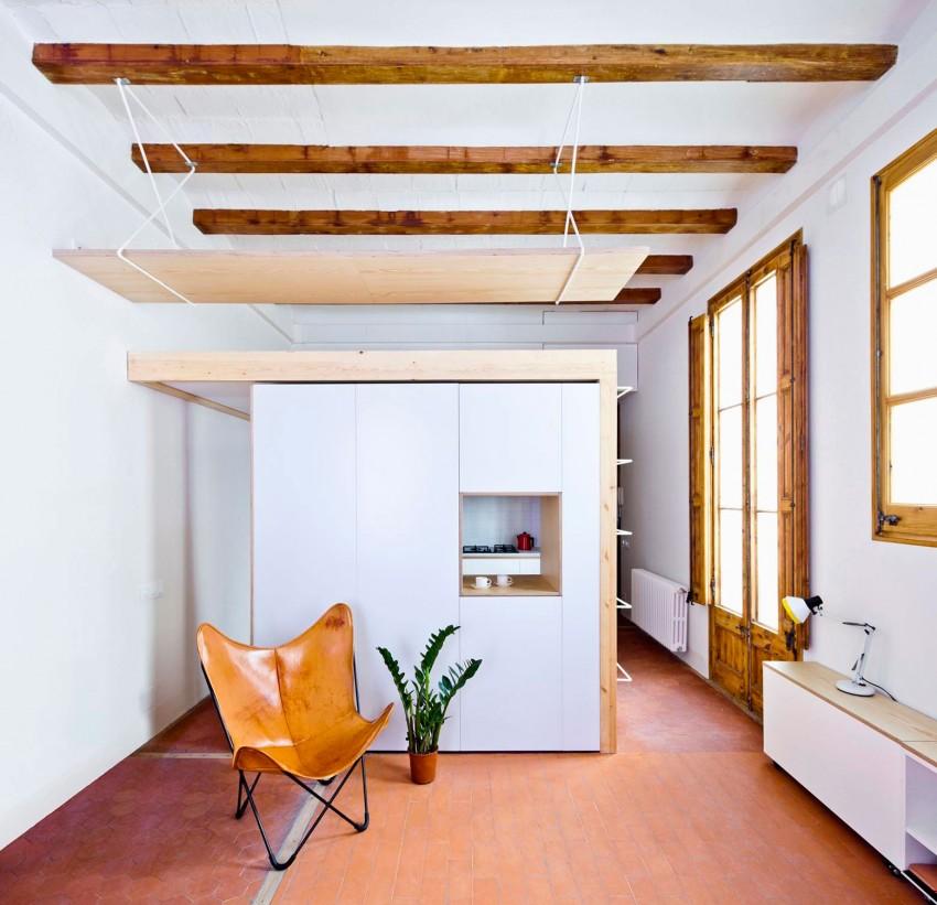 Подвесная конструкция под потолком