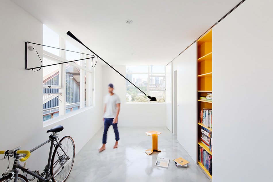 Уникальная мебель по авторскому проекту в стильной квартире в Сиднее