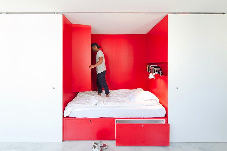 Уникальная спальня по авторскому проекту