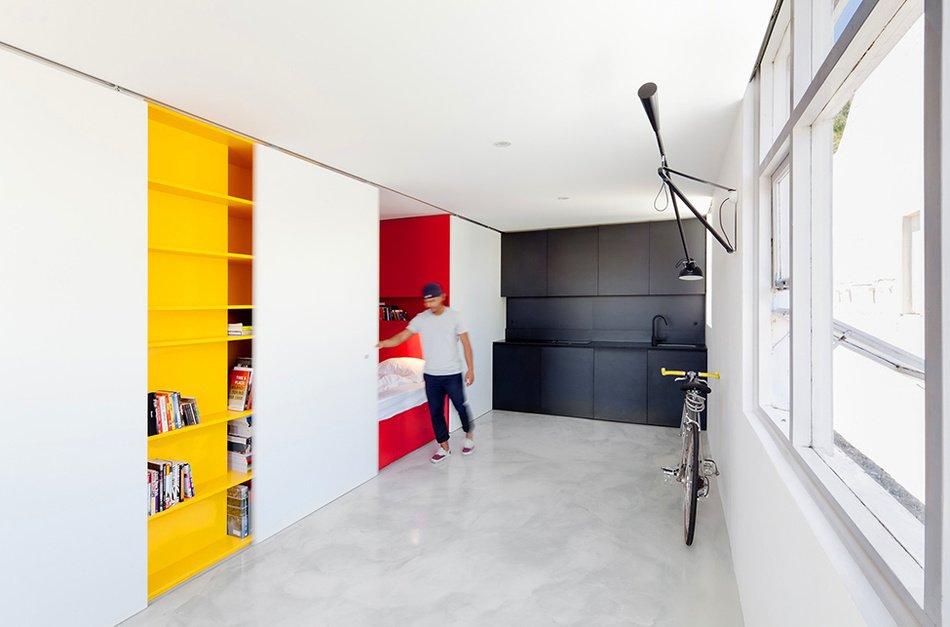 Дизайнерская квартира-студия