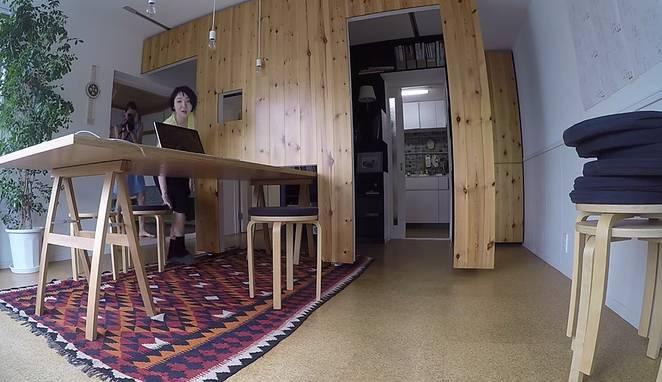 Квартира-трансформер от Юко Шибаты
