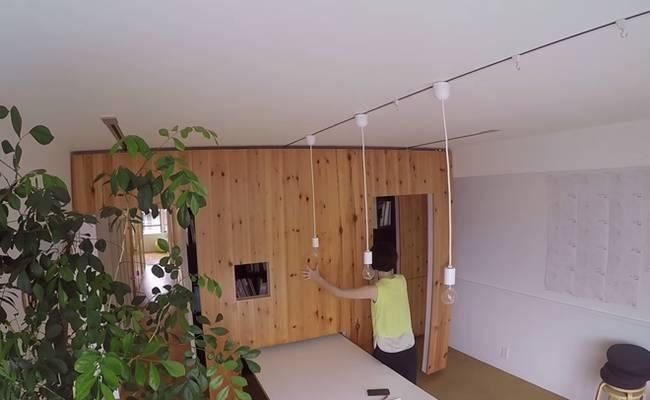 Квартира с раздвижными стенами