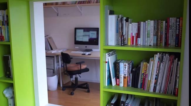 Книжный шкаф и кабинет