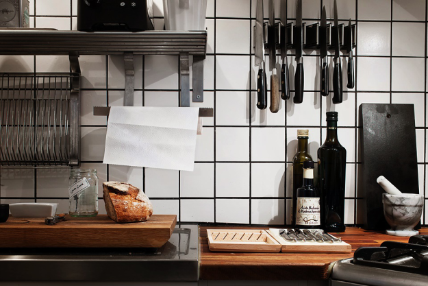 Держатель для ножей на кухне