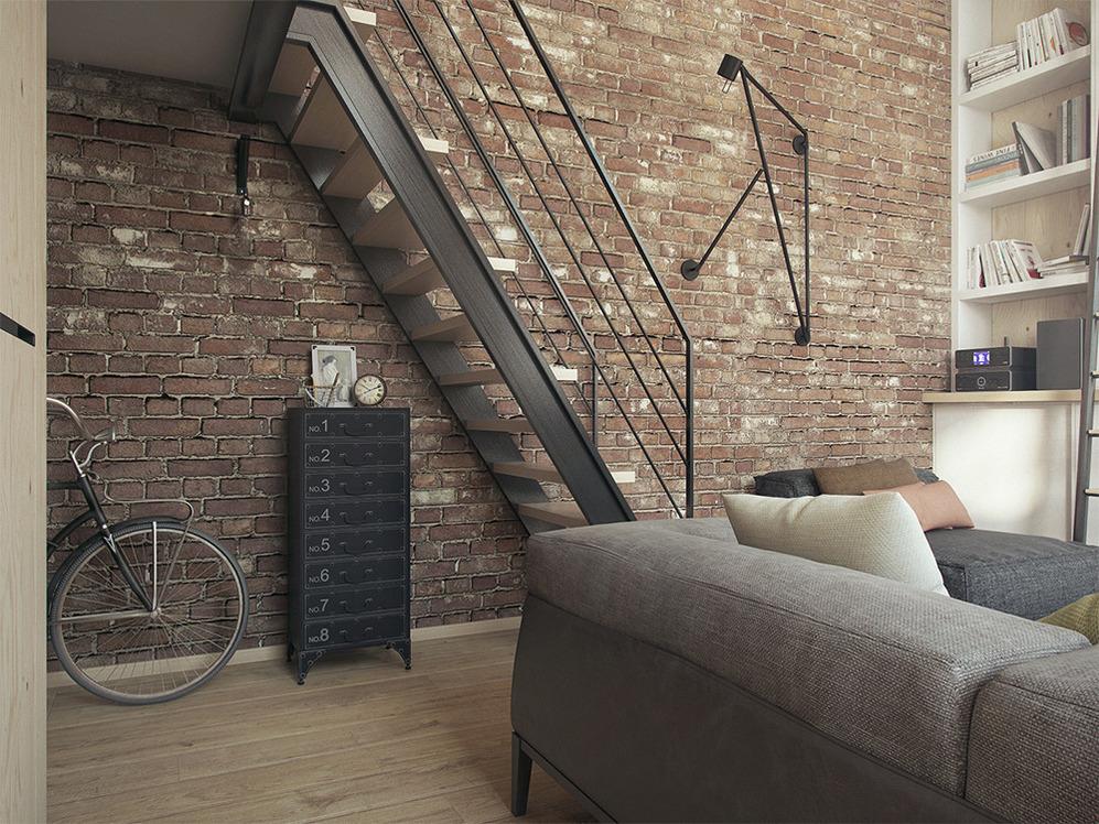 Тумбочка под лестницей