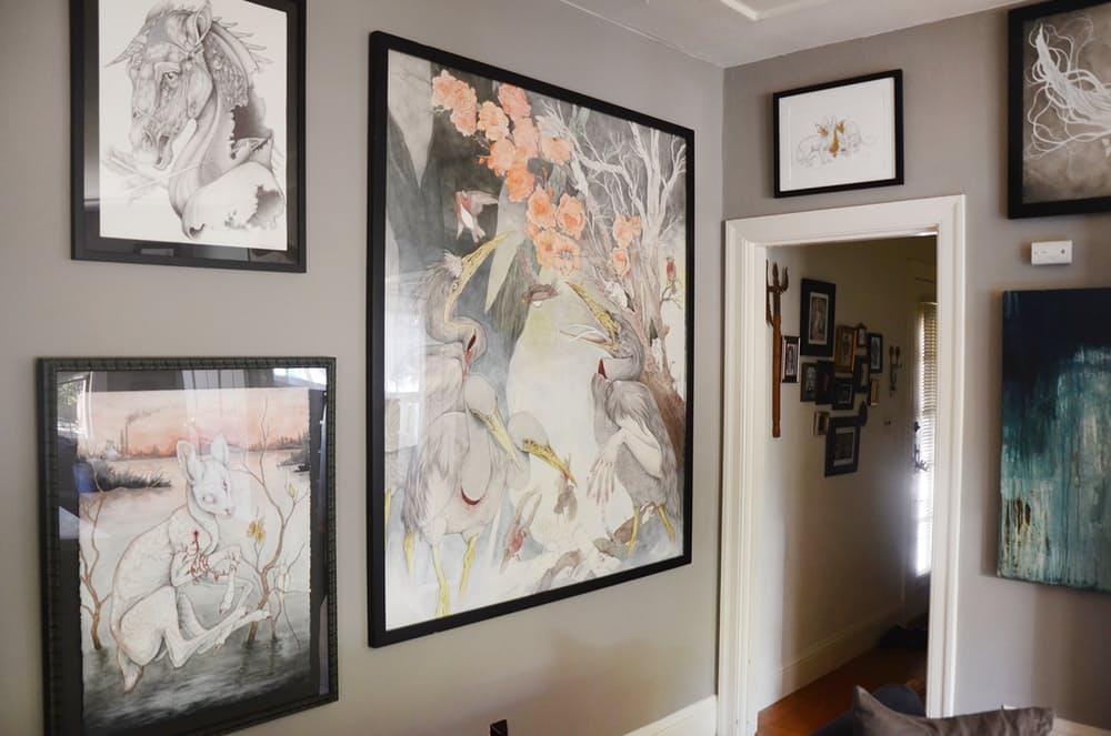 Картины в оформлении квартиры
