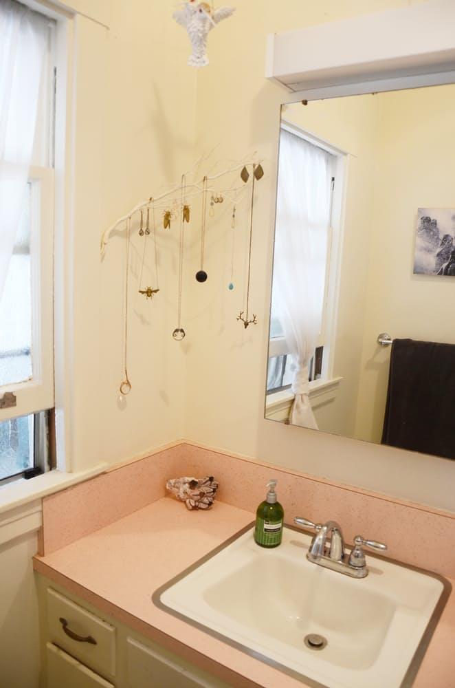 Интерьер ванной в викторианском стиле