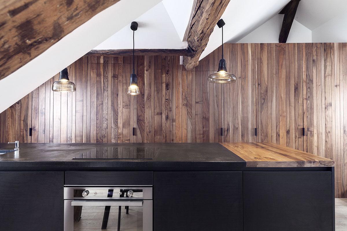Островная кухня во французском стиле