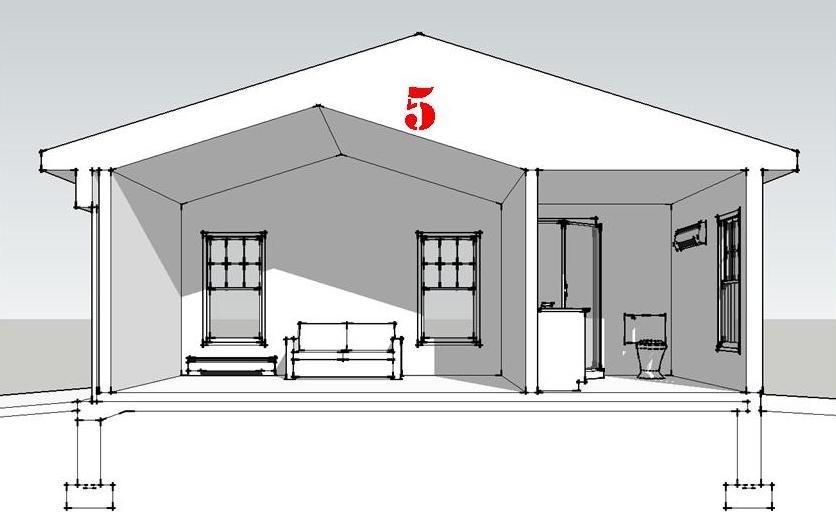 Проект просторного гаража