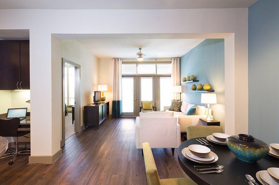 Интерьер квартиры в The Heights - фото 2