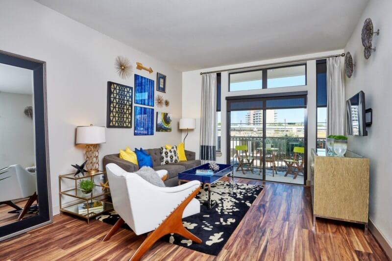 Интерьер квартиры в Midtown