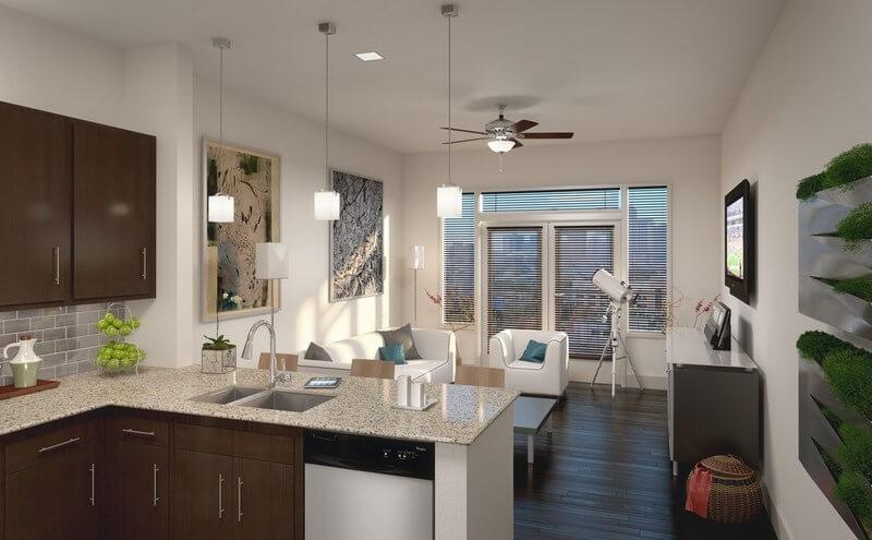 Интерьер квартиры в Midtown - фото 2