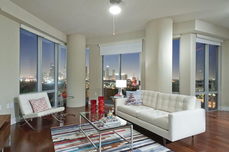 Лучшие интерьеры квартир в Хьюстоне
