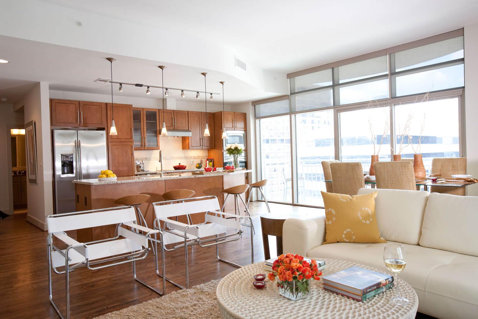 Интерьер квартиры в Downtown Houston