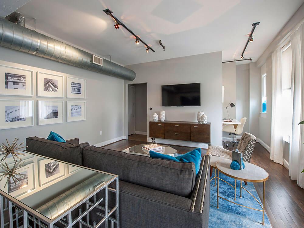 Интерьер квартиры в Downtown Houston - фото 2