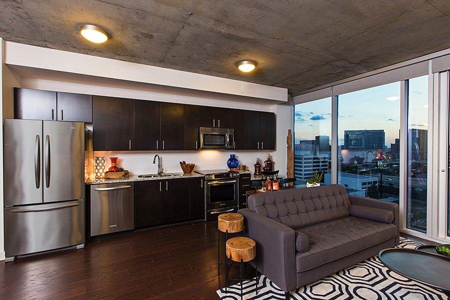 Интерьер квартиры в River Oaks/Afton Oaks - фото 2