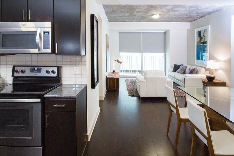 Интерьер квартиры в Downtown Houston - фото 3