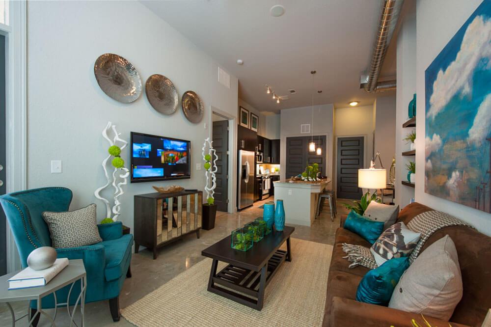 Интерьер квартиры в River Oaks/Afton Oaks - фото 3