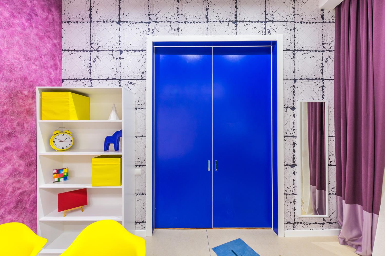 Дизайн маленькой комнаты для двоих детей