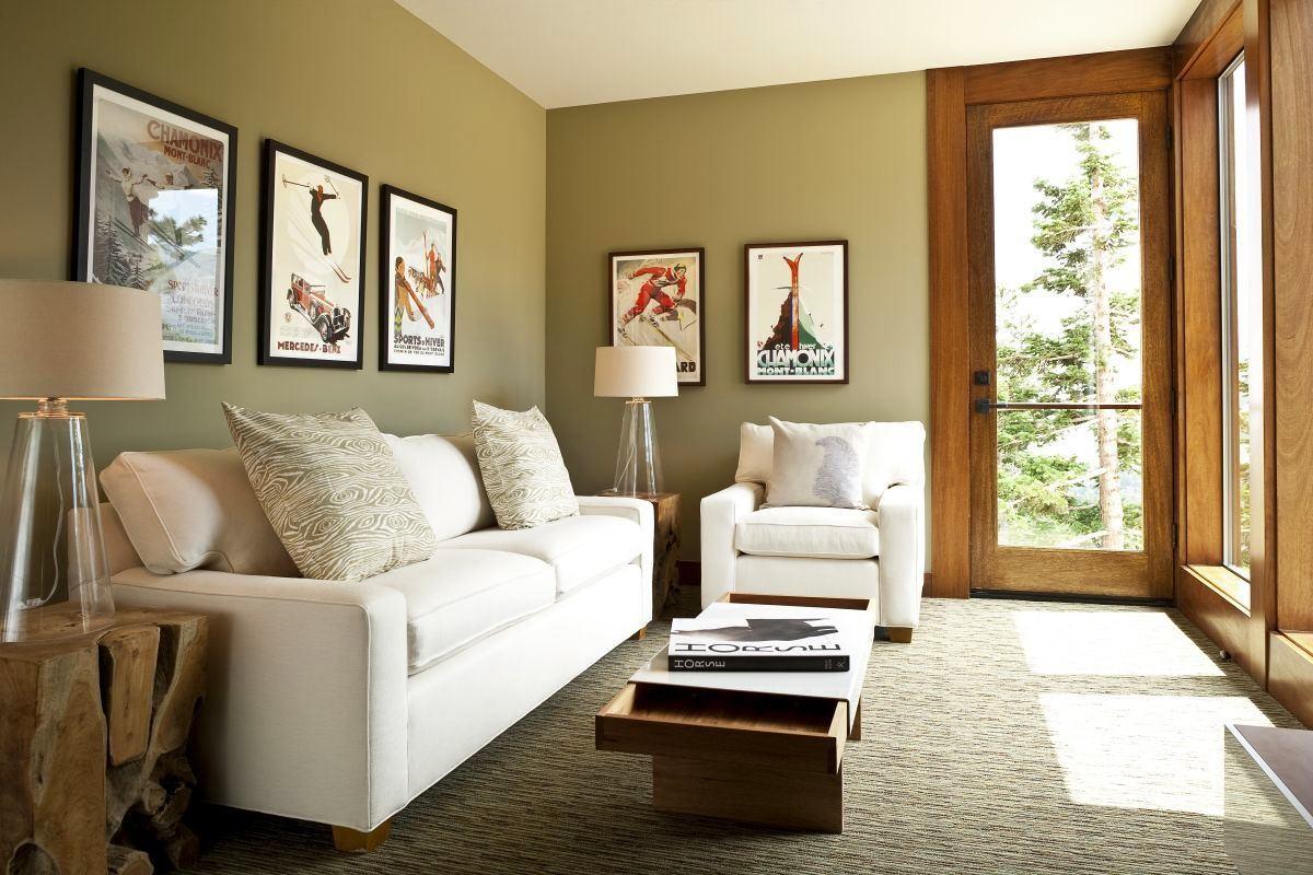 Компактная мебель в гостиной