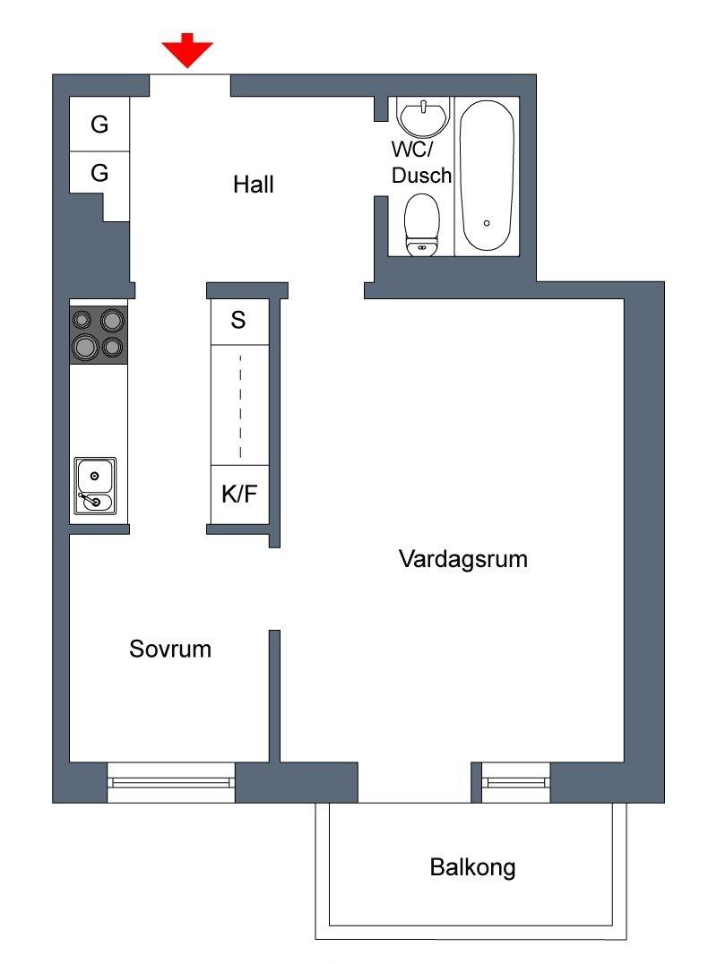 Уникальный дизайнерский декор маленькой квартиры.