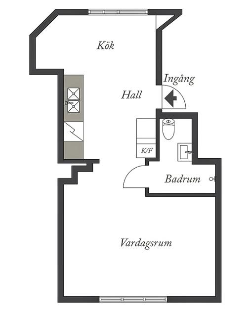 Планировка небольшой квартиры для девушки