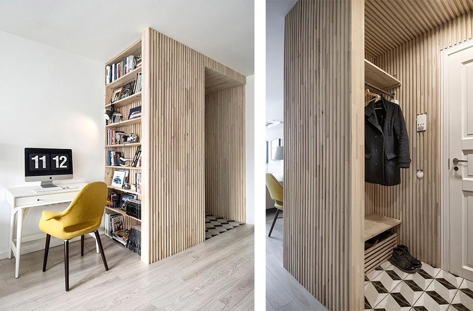 Маленькая квартира в скандинавском стиле: современный подход на фото
