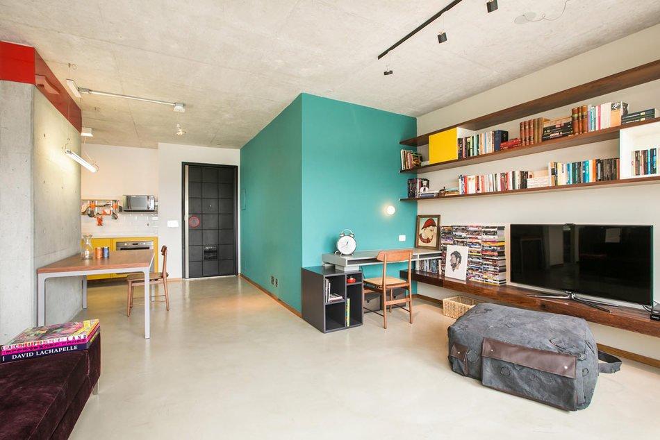 Однокомнатная квартира-студия для молодого человека
