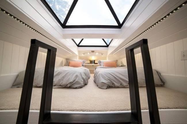 Маленький дачный дом. Главная фишка — спальня