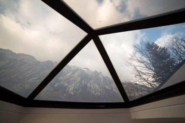 Маленький дачный дом: потолок