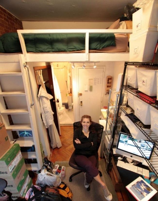 Кабинет под спальным местом
