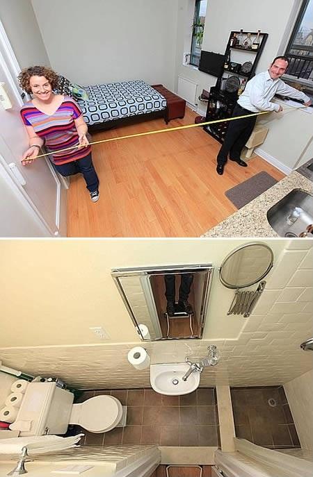 Интерьер компактной квартиры-студии