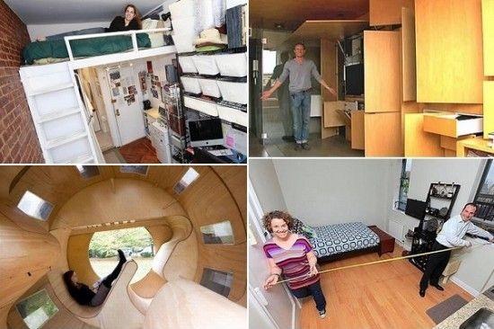 Примеры интерьеров малогабаритного жилья