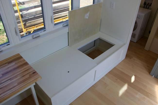 Система хранения на маленькой кухне